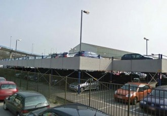 Charleroi, Belgium, 2007 (190 parking spaces)